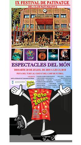 9º Festival de Patinaje Artístico del Club Patí Polinyà