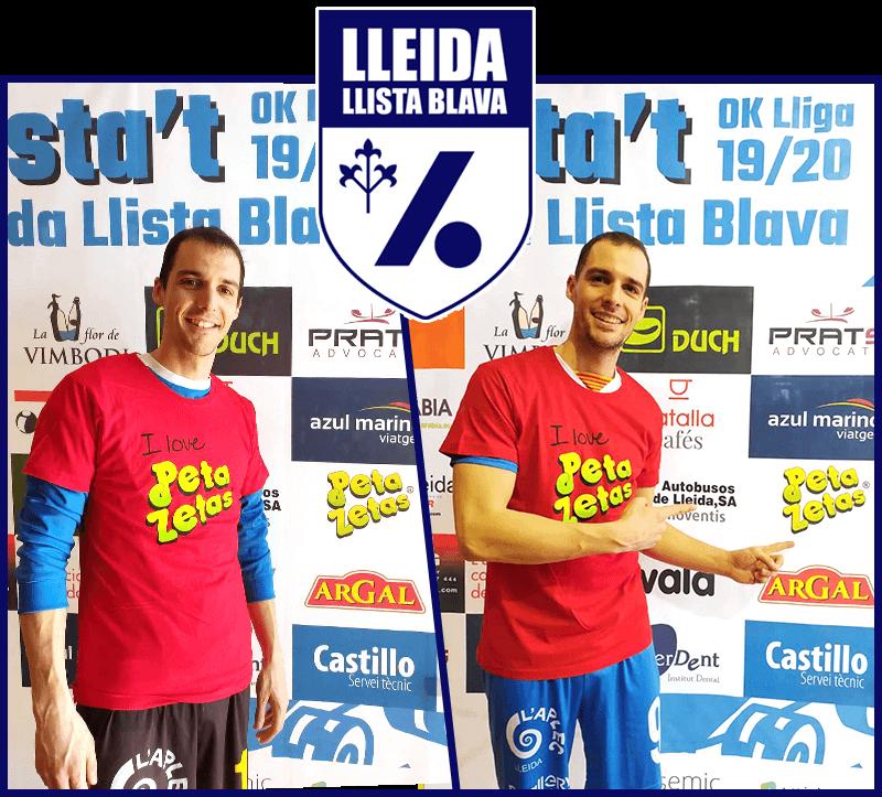 Lleida llista Blava con Peta Zetas