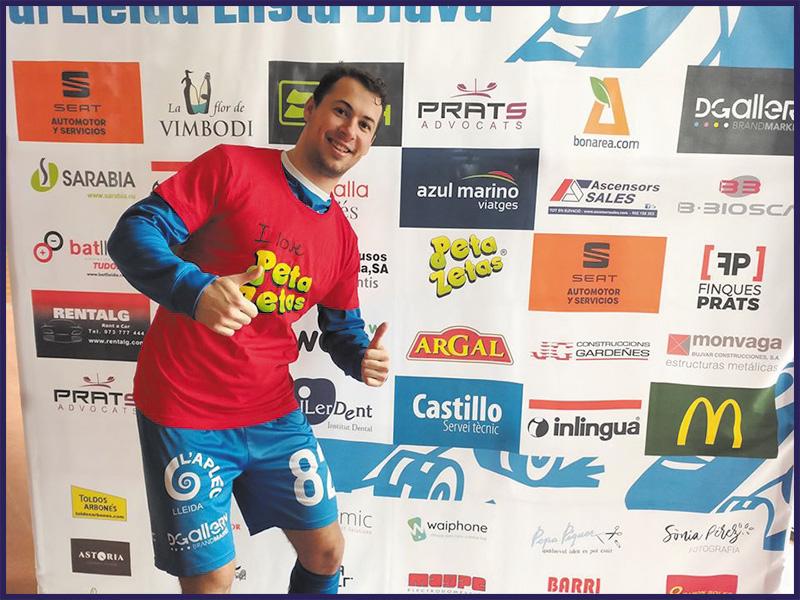 Lleida Llista Blava at OK Liga with Peta Zetas