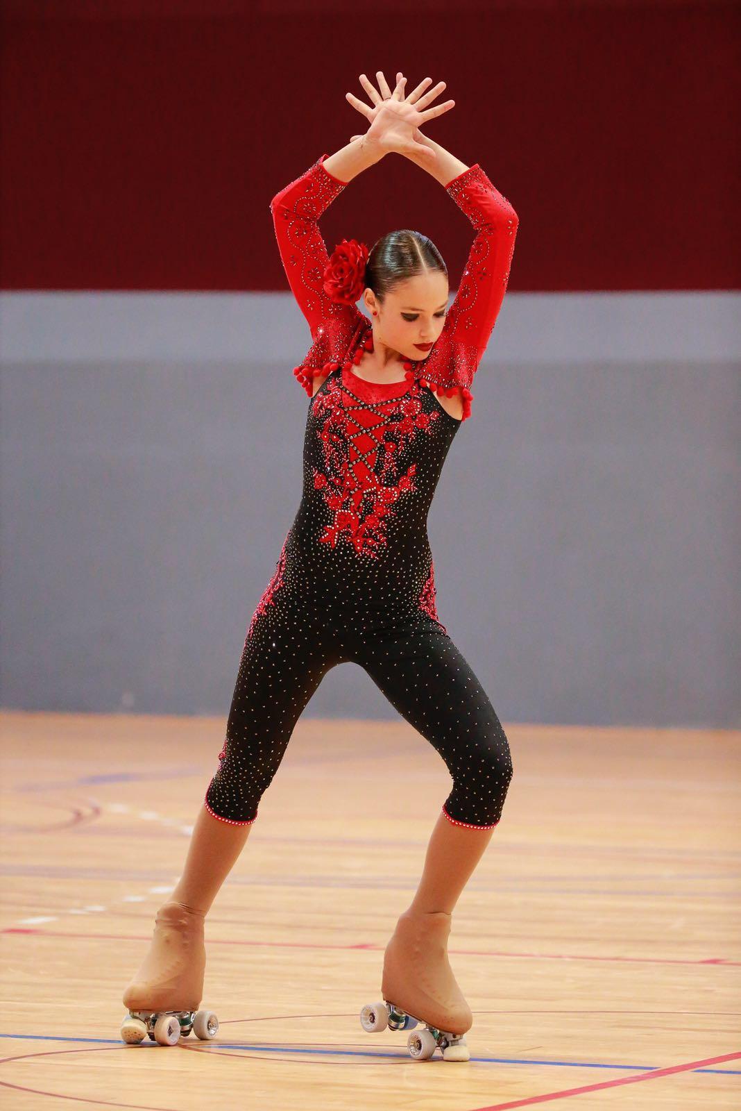 Actuación patinadora