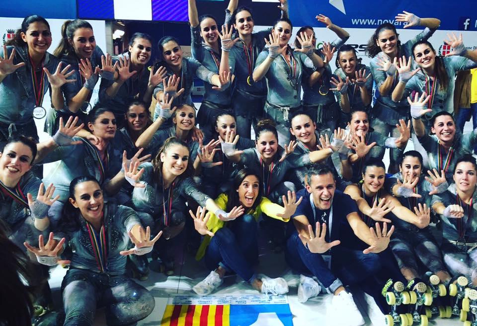 Peta Zetas felicita al CPA Olot campeón 2016 de la competición en Novara