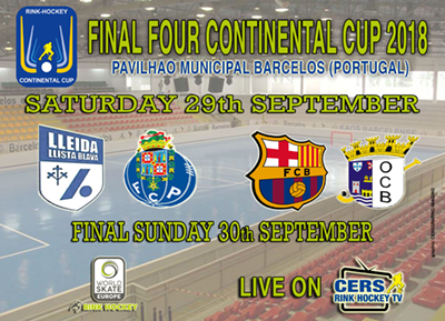 Final CONTINENTAL CUP 2018