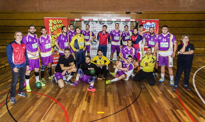 Peta Zetas cooperates in Sant Marti Adrianenc handball club teams presentation