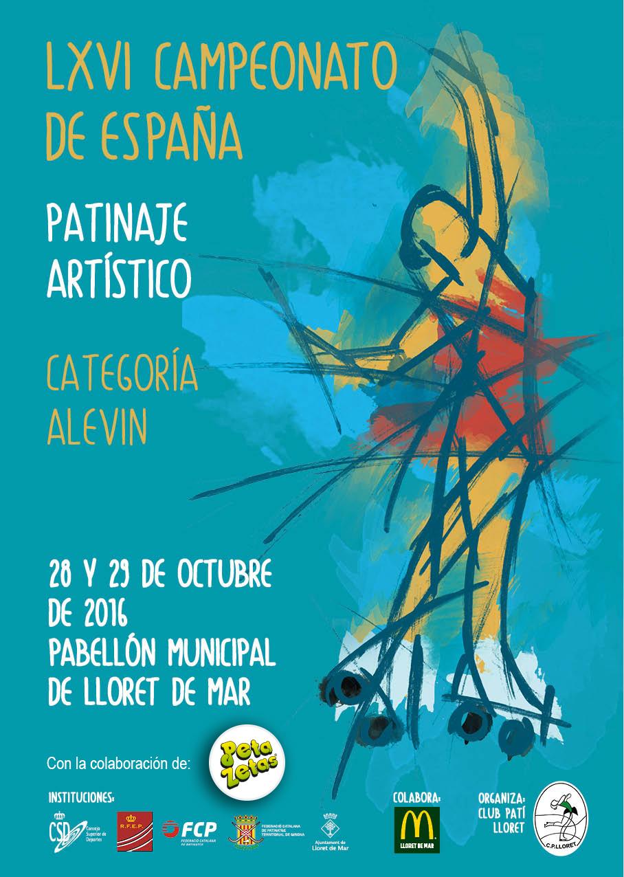 Cartel campeonato Alevín Lloret