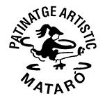 Logo de Club de patinaje artístico Mataró.