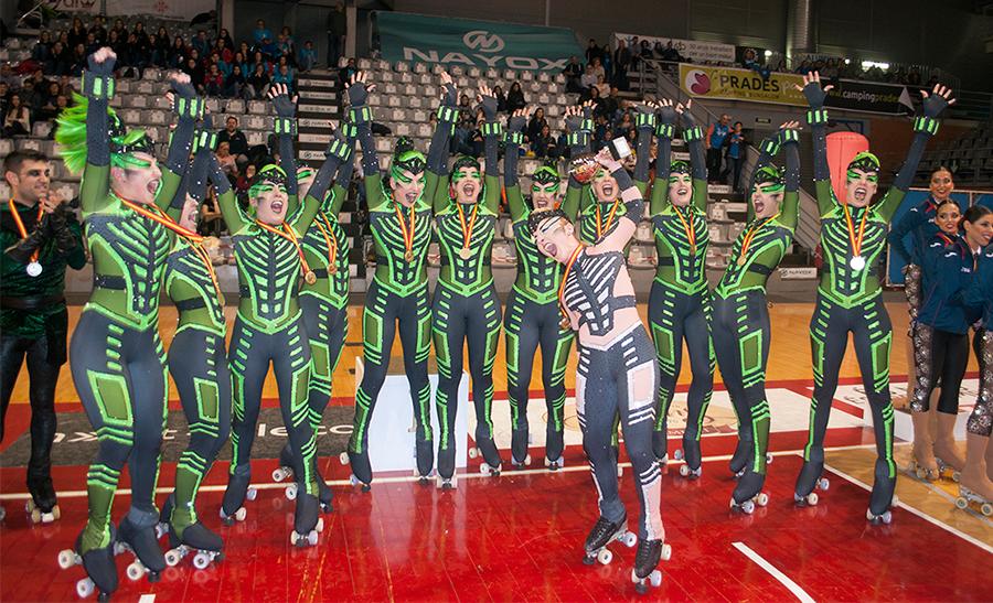 PA Maçanet en el campeonato de España patrocinado por Peta Zetas.