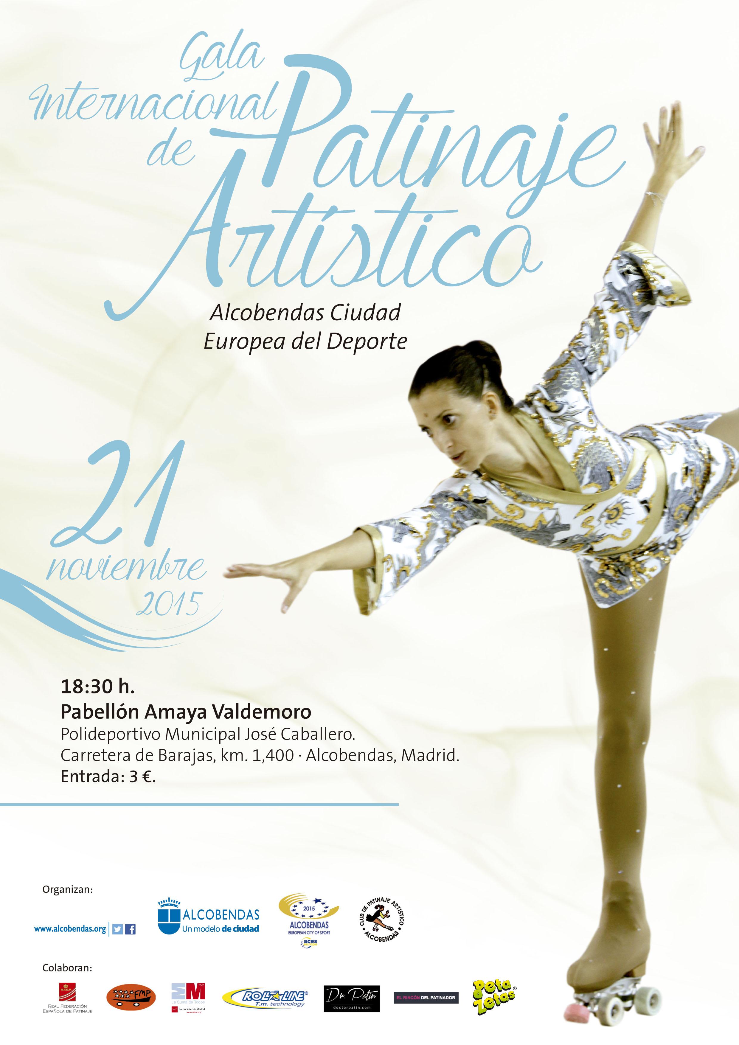 Peta Zetas colaborará en la Gala de Patinaje Artístico de Alcobendas