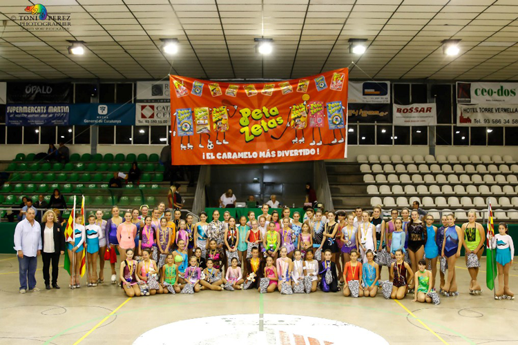 "Peta Zetas supports the ""Interclub Final"" edition of artistic roller skating"