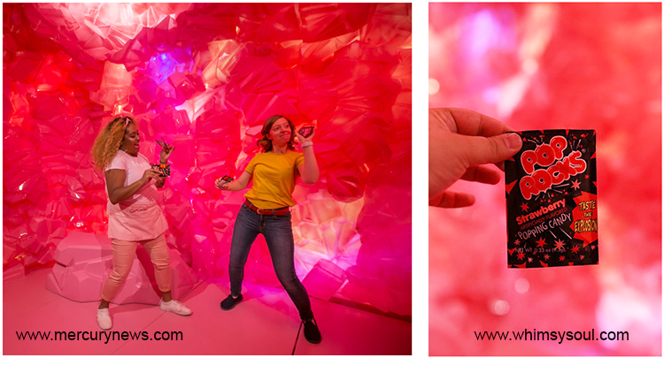 Pop Rocks Cave, Museum of Ice Cream, San Francisco (USA)