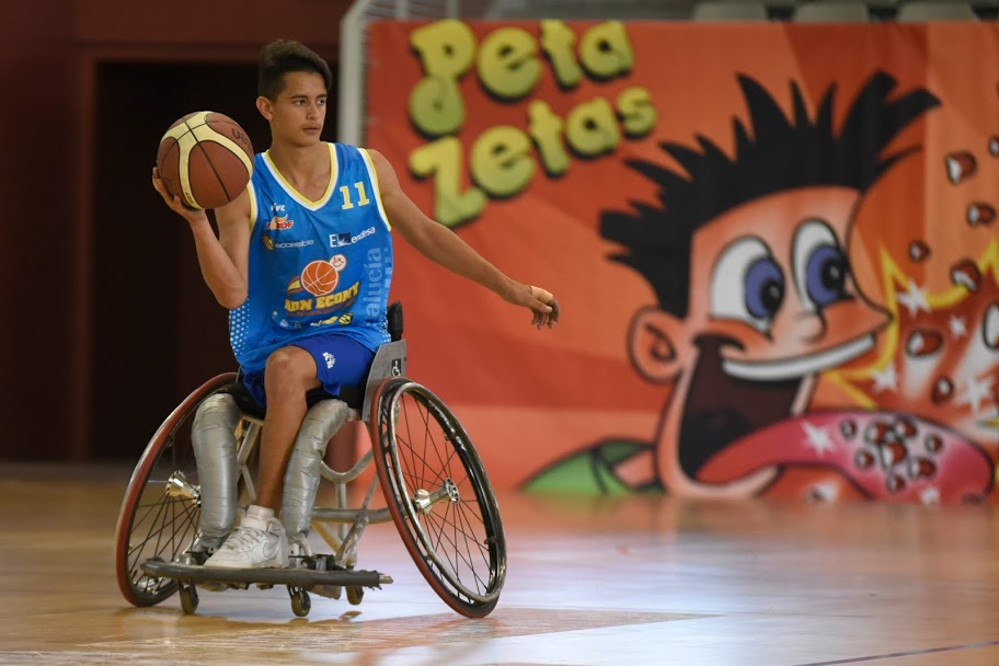 Peta Zetas cooperates with Spanish Wheelchair Basketball Championship