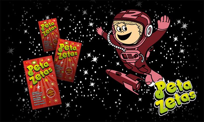 Astronauta de Peta Zetas