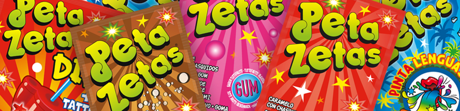 Peta zetas best selling Popping Candy range