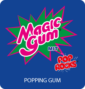 Magic Gum Popping Gum