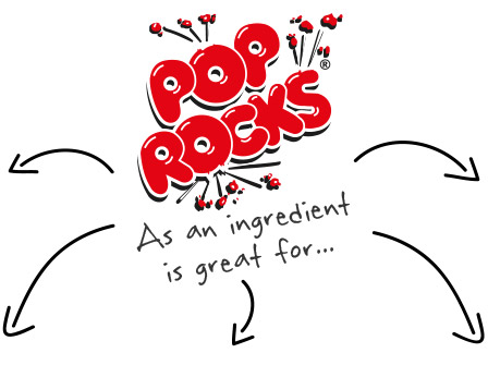 Pop Rocks as an Ingredient