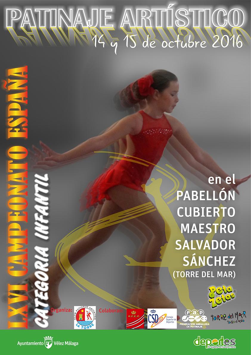 Peta Zetas colabora con el LXVI Campeonato de España de Patinaje