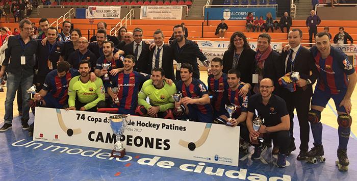 Copa del Rey Hockey Peta Zetas