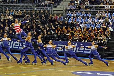 CP L'Aldea y CPA Girona ganadores del campeonato de España grupos show patrocinado por Peta Zetas