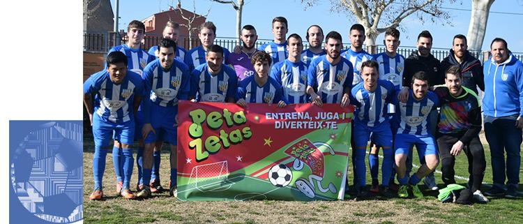 Peta Zetas patrocina al club de Fútbol de Artesa