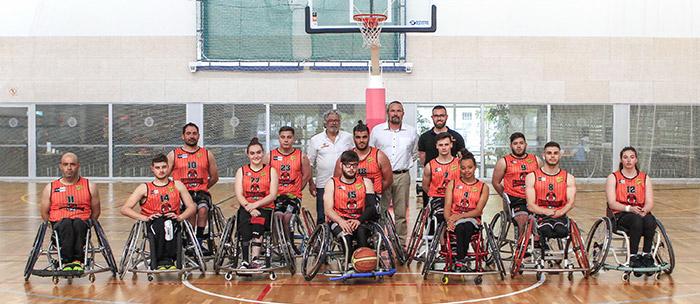 El equipo de global básquet patrocinado por peta zetas jugó con mucha determinación la final de la liga catalana de básquet sobre ruedas.