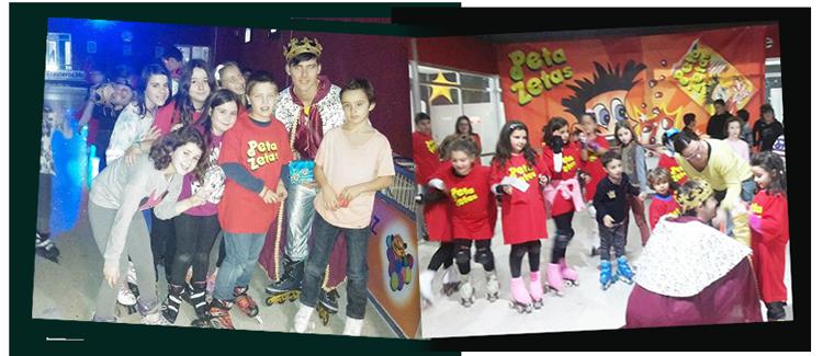 Fiesta del niño Peta Zetas 2016 y 2017 con los reyes magos.
