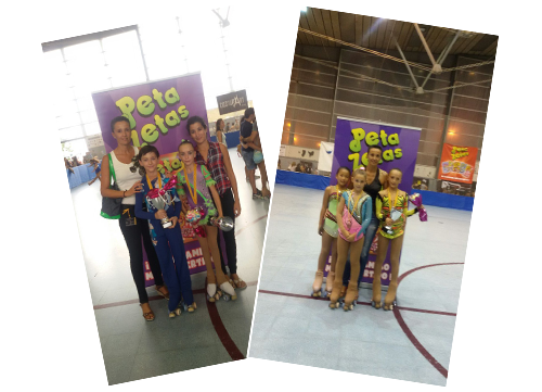 ganadoras campeonato patinaje cataluña