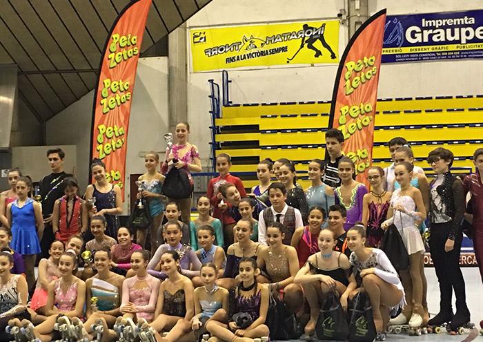Ganadores de la primera jornada del XVII Trofeo Criterium Maresme Peta Zetas