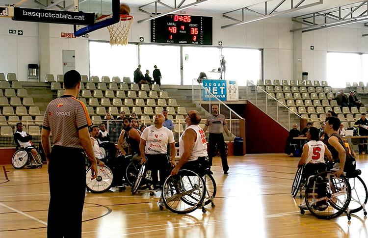 Global Basket, patrocinado por Peta Zetas en el partido contra ADEMI Tenerife.