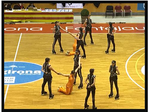 Peta Zetas apoya a Grupo gran Olot en torneo de Girona.