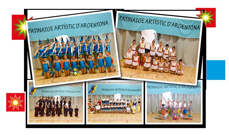 Participantes del Festival de Primavera de Argentona patrocinado por Peta Zetas