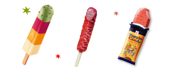 Pop Rocks Popping Candy ingredient in ice-creams