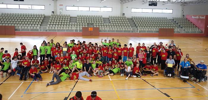 Peta Zetas participa junto con Global Basket de las Jornadas de Deporte Inclusivo