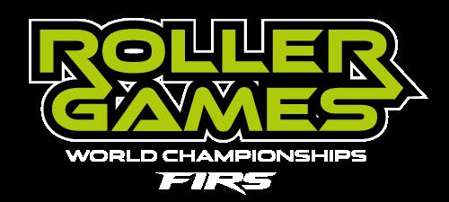 Logo de Roller games World Championships donde ganó CPA Olot patrocinado por Pop Rocks.