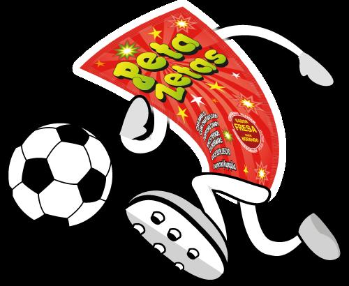 Personaje Peta Zetas fútbol