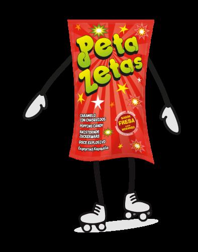 Peta Zetas personaje patinador