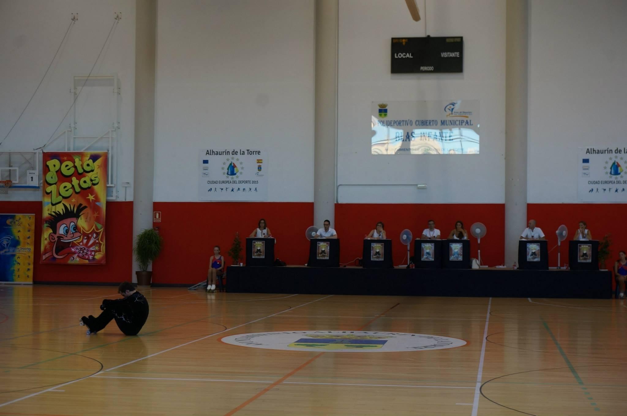 Peta zetas con el campeonato de España de patinaje