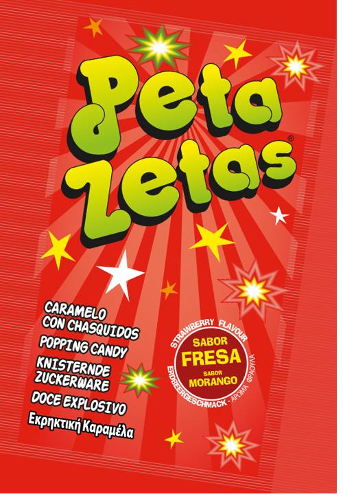 Peta Zetas sabor fresa