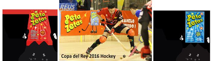 Peta zetas patrocinador de la Copa del Rey de Hockey sobre Patines 2016