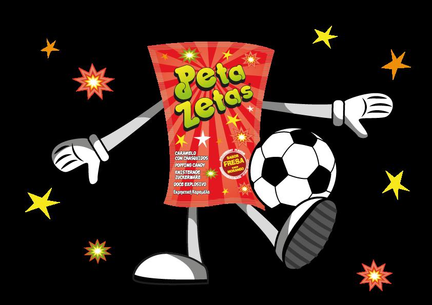 peta zetas personaje fútbol