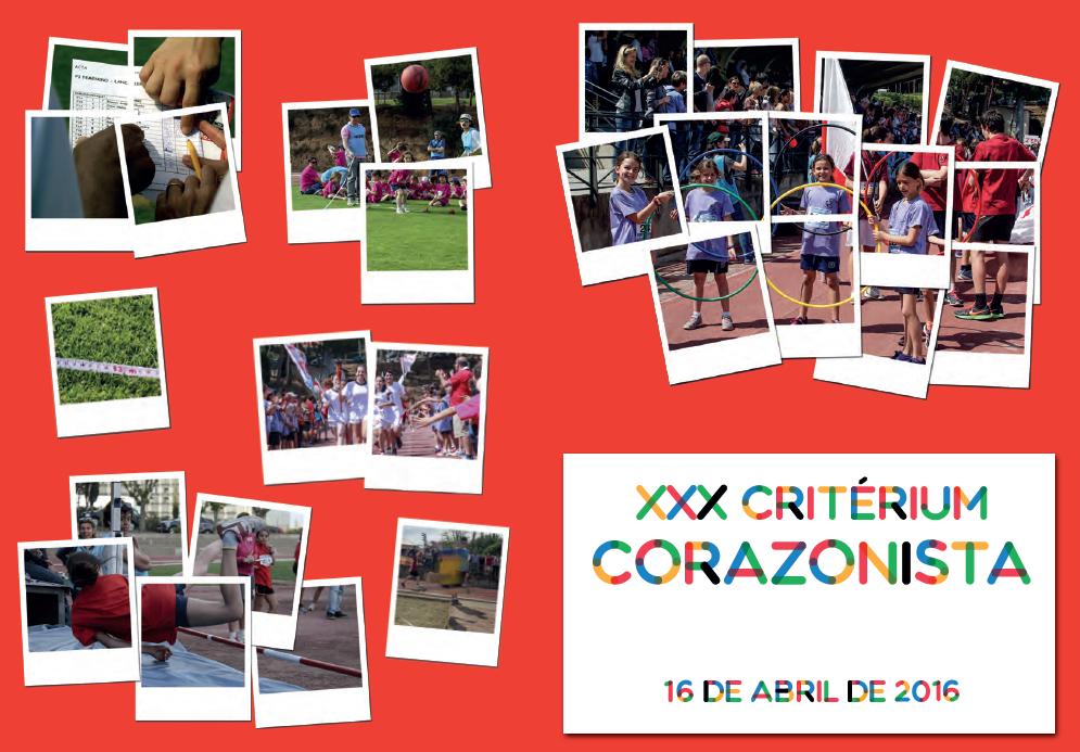 Poster del Critérium Corazonistas.