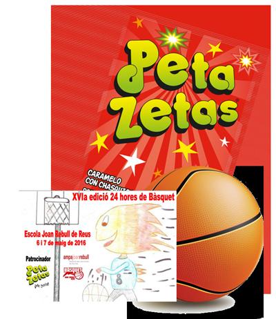 Baloncesto+PetaZetas+JoanRebull=Diversión
