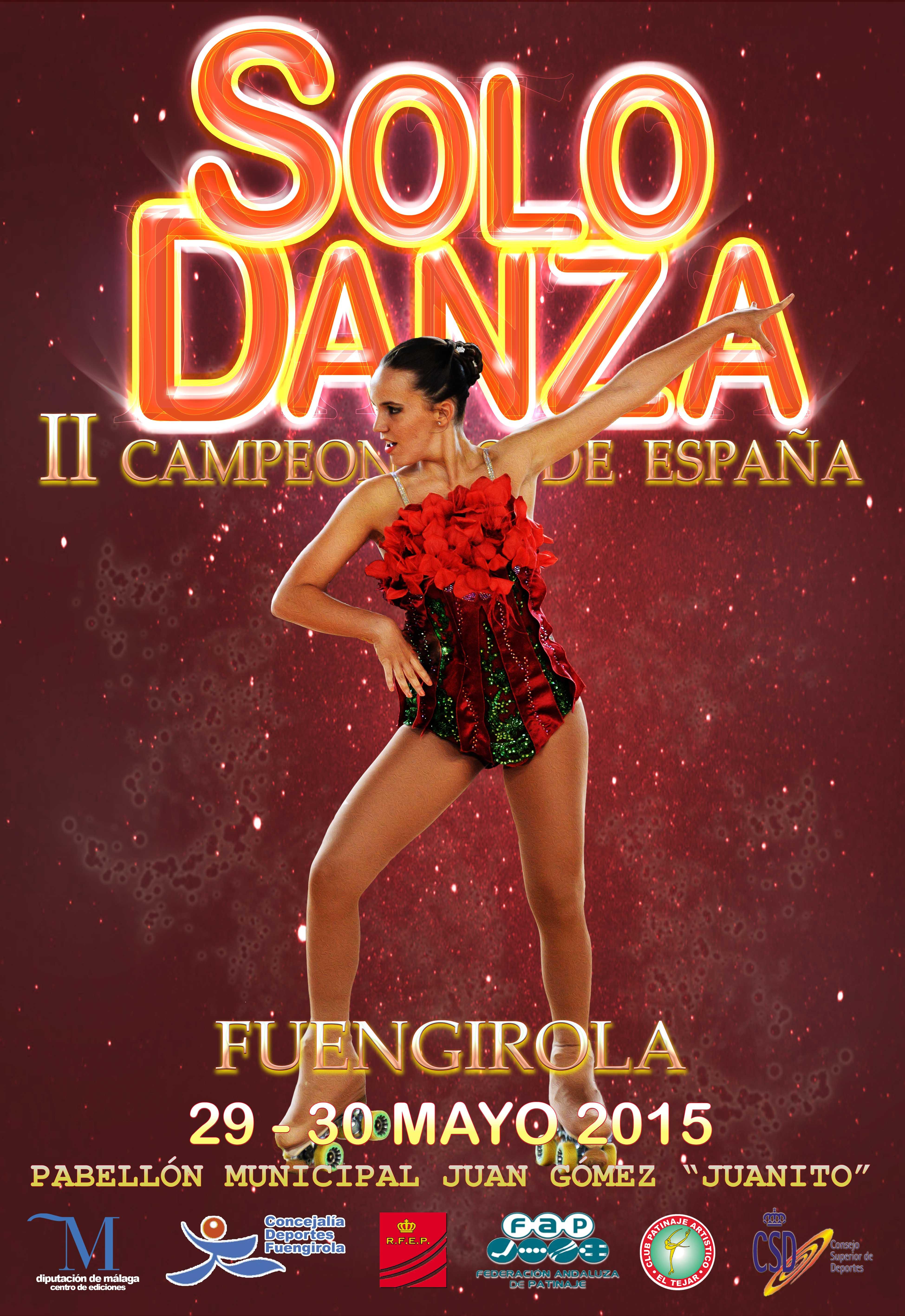 Segundo campeonato de solo danza de fuengirola