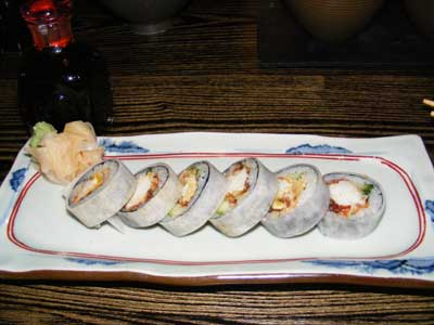 Sushi Yellowtail restaurant