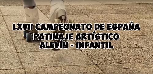 Video promocional del Campeonato de España de Patinaje Artístico Alevín e Infantil patrocinado por Peta Zetas.